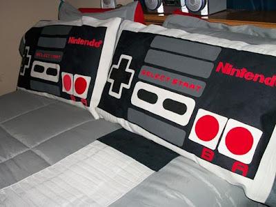 Imagen de una cama Geek