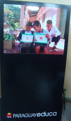 Imágenes de la OLPC en la ETyC 2010