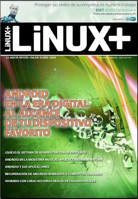 Imagen de la revista Linux+ de octubre del 2010