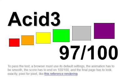 Imagen de Mozilla Firefox 4 beta 6 del acid3 test