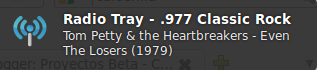 Imagen de ejemplo de Radio Tray