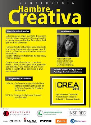 Imagen de la Conferencia Internacional Hambre Creativa en Asunción - Paraguay
