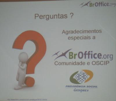 Imagen de BROffice en Latinoware 2010