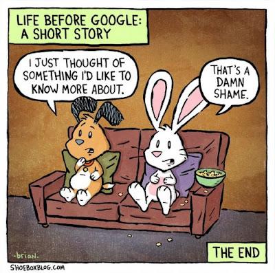 Imagen de la vida antes de Google