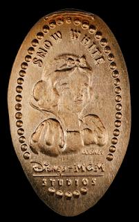 Pressed Coins(=piéces écrasées) de WDW et Disneyland Picture