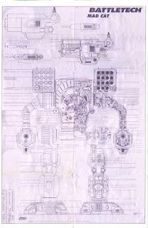 Battletech giant robot poster