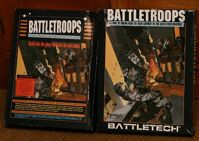 FASA game battletroops front back cover