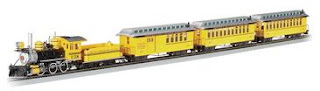 Hiawatha hobbies Bachmann On30 Spectrum Roaring Ridge Passenger Set