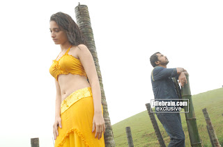 Cute Navel Show by Tamanna