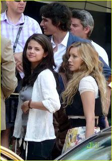 Leighton Meester & Selena Gomez