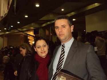 Líder dos Jovens e sua esposa