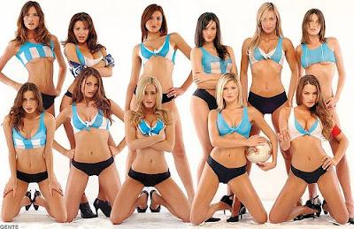 Argentina football fans