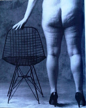 NOT MY ASS! Italian Magazine Ad for a Chair!  LOVE IT!