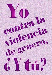 """""""la violencia de género sólo verá su fin si se unen todas las voces"""""""