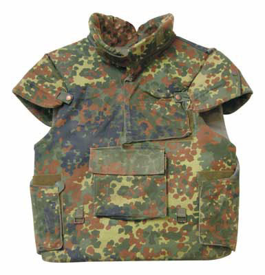 German Army Surplus Flektarn, Flecktarn Gortex Jacket from Premier