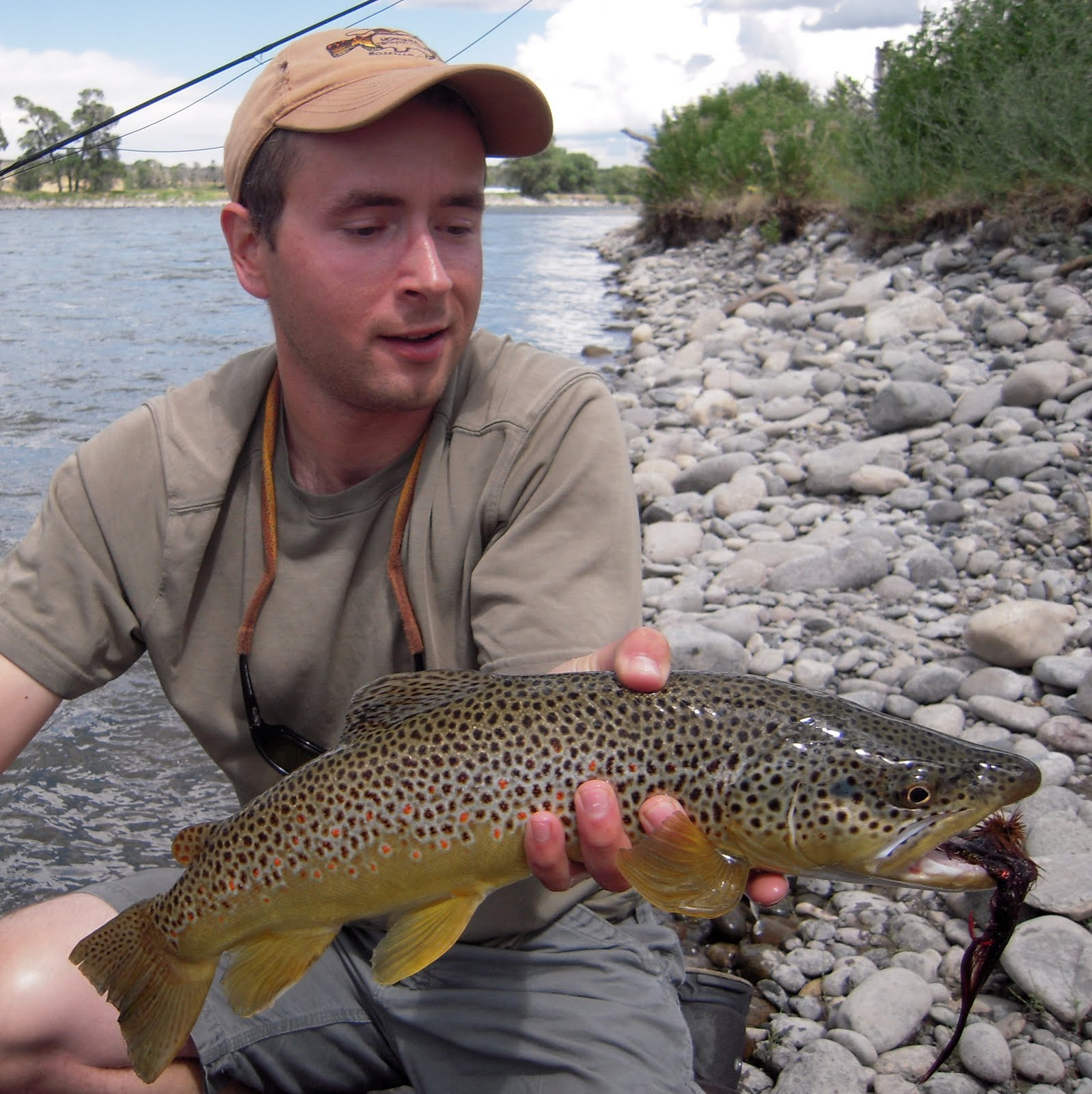 Captain kirk 39 s fishing blog yellowstone river report for Yellowstone fishing report