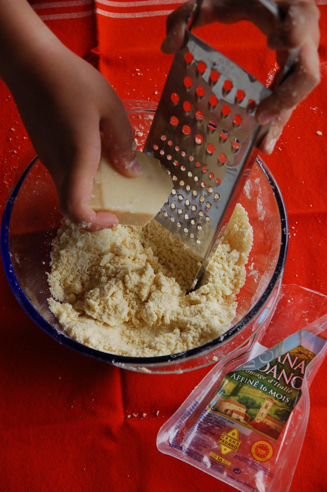Biberiyeli Parmesanlı Kurabiye