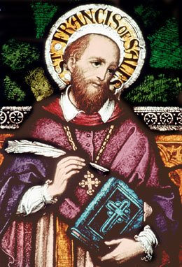 St. Francis de Sales- Patron of Writers