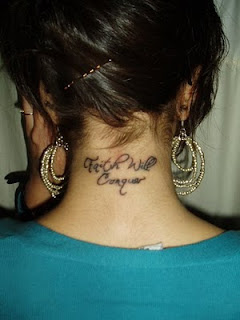 neck tattoos, tattooing