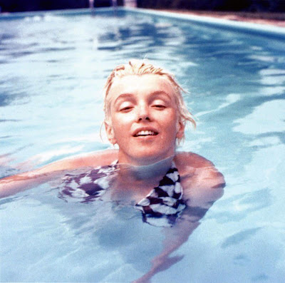 Marilyn Monroe never saved anything for the swim back