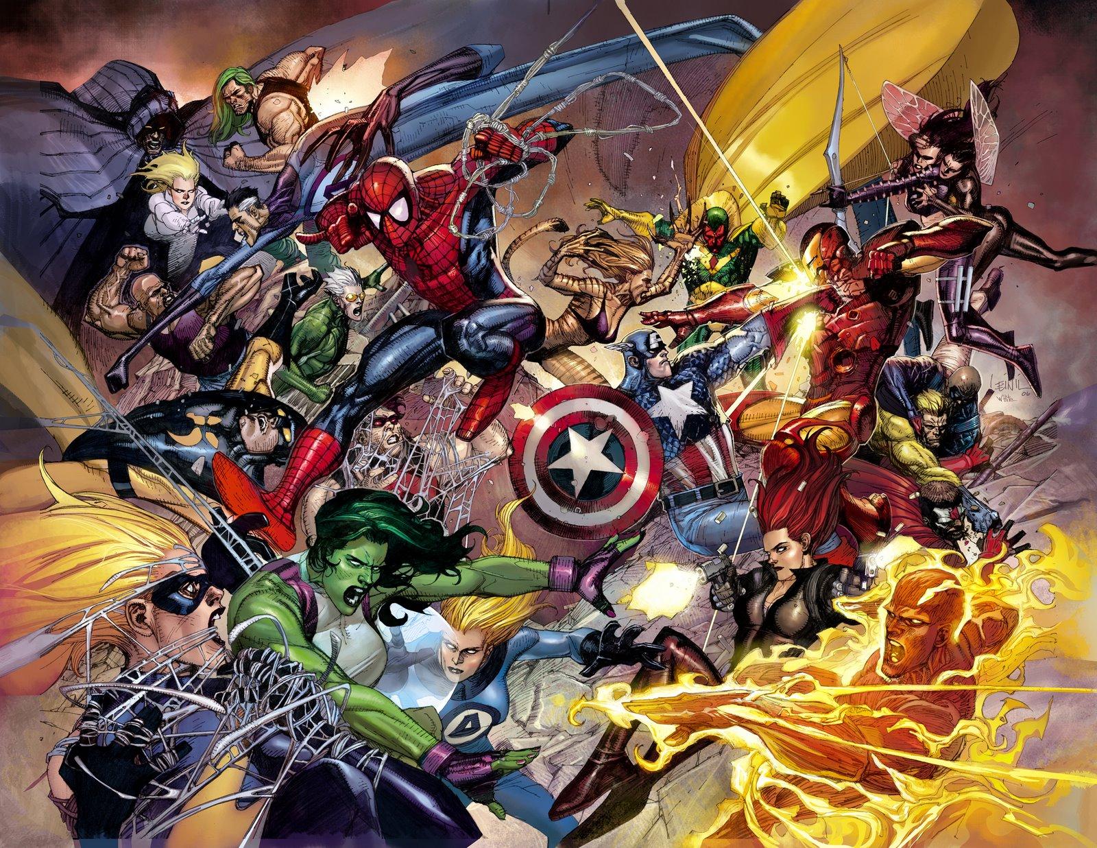 Civil War!!! Civil+War+by+leinilyu