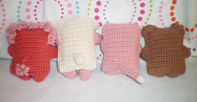 Miniature Crochet Patterns Dolls
