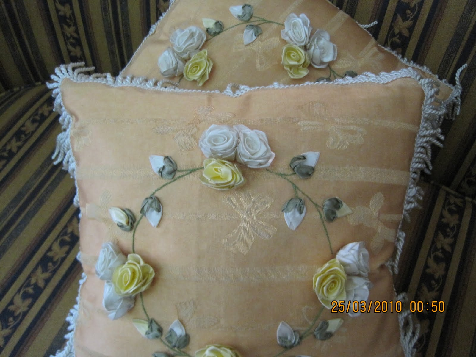 Embroidery Ribbon Design  Free Embroidery Patterns