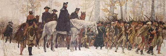 Marching to Valley Forge