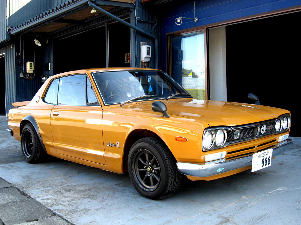 Brilliant 1970 Nissan Skyline 2000 GTR 1280 x 960 · 296 kB · jpeg