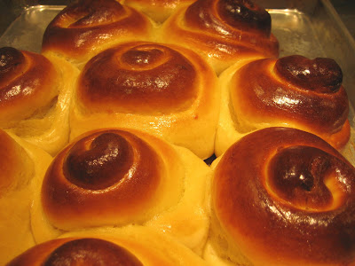 Christine Cooks: Saffron Bread Holiday Tree And Rolls