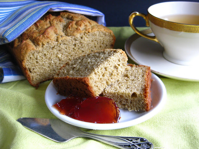 ... gluten free tea bread. That would go to Britt of GF in the City
