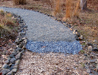 Delicieux We Started The Garden Paths Using Cedar Chips From The Cedars (Juniperus  Virginiana) We Cut Down To Make Space For Planting. Good To Start With, ...