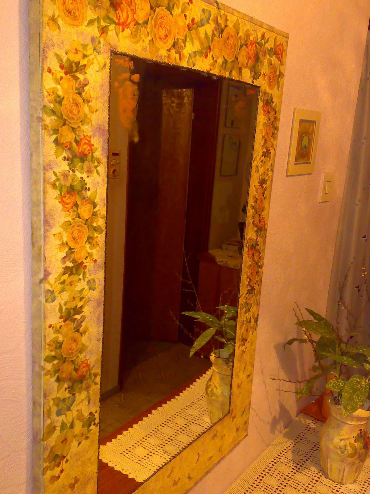 Dipingere salvare lo specchio un etto di colore - Lo specchio di carta ...