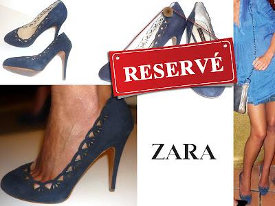 chaussures Zara vide-dressing