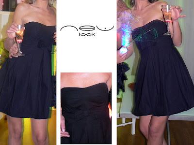 vide dressing robe noire