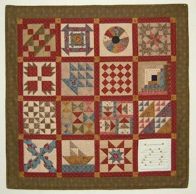 Quilt Patterns For Underground Railroad : Treadle Quilts: Underground Railroad Miniature Quilt
