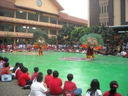reog goes to school