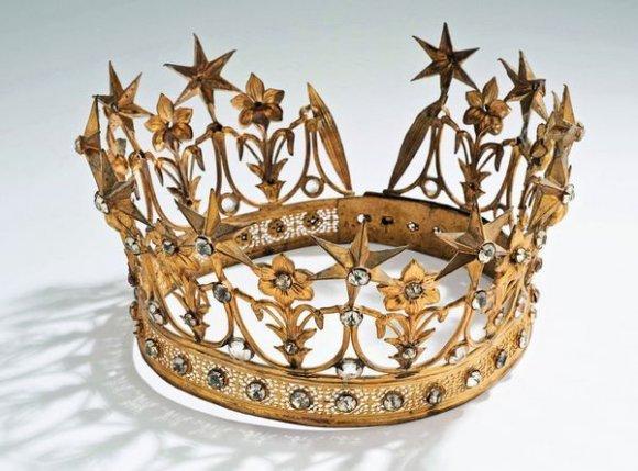 bijouterie du spectacle trois couronnes de th tre de sarah bernhardt aux ench res. Black Bedroom Furniture Sets. Home Design Ideas