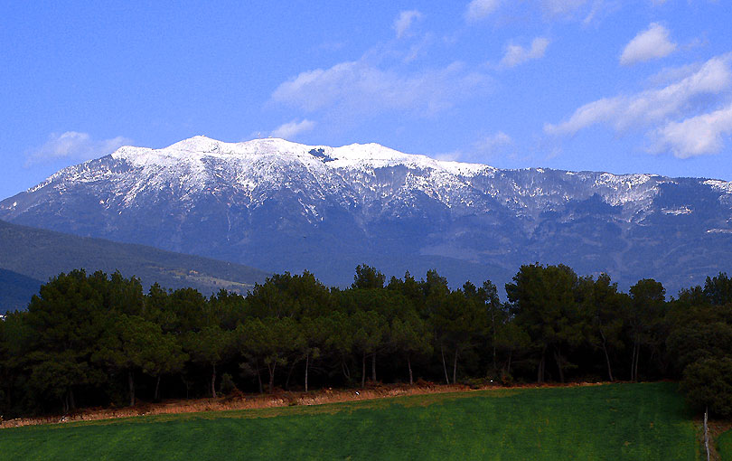 montseny massis macizo massif muntanya montaña mountain