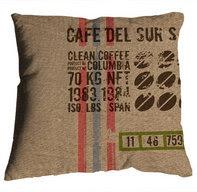 coussin de createur café