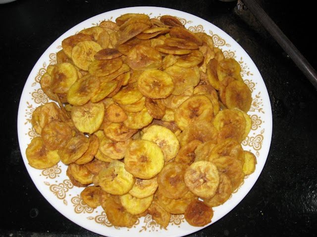 Netrankai Upperi with platain chips
