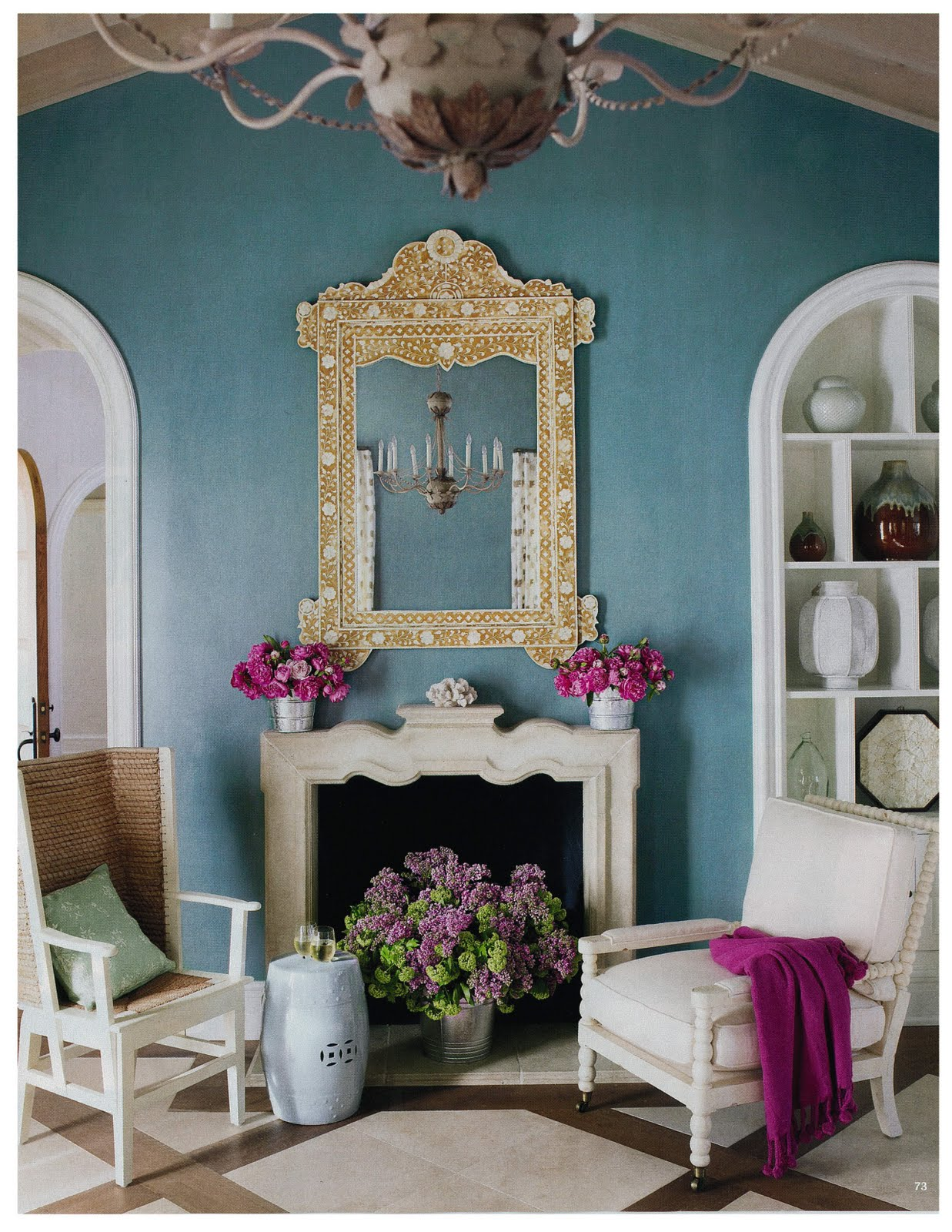 Abellina's Annotations: House Beautiful June 2010