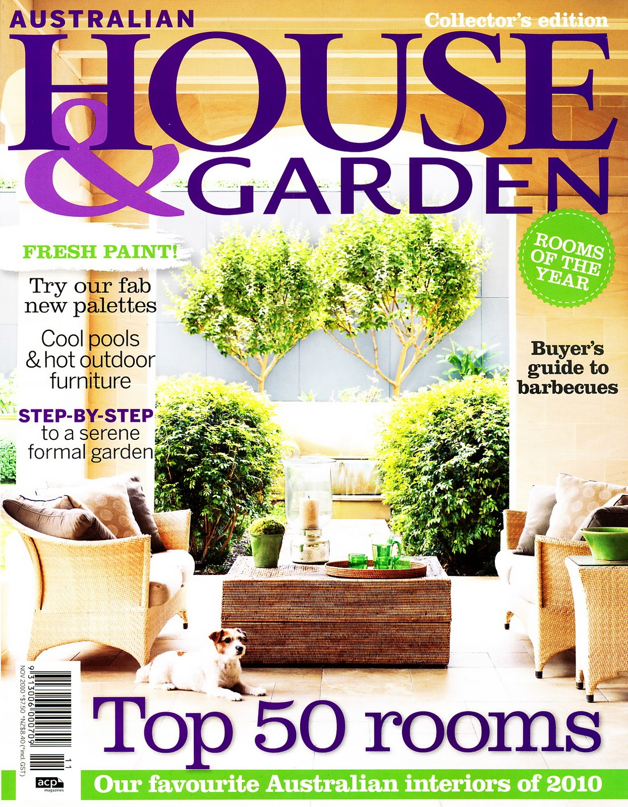 Ampersand Design Magazine Sneaky Peek House Garden AUS Nov 2010