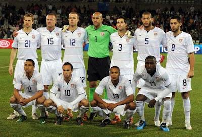 The U.S. men's soccer team had