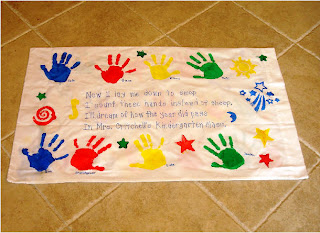 Chalk talk a kindergarten blog end of the year ideas now i lay me down to sleep i count these hands instead of sheep ill dream of every lad and lass from mrs s kindergarten class publicscrutiny Gallery