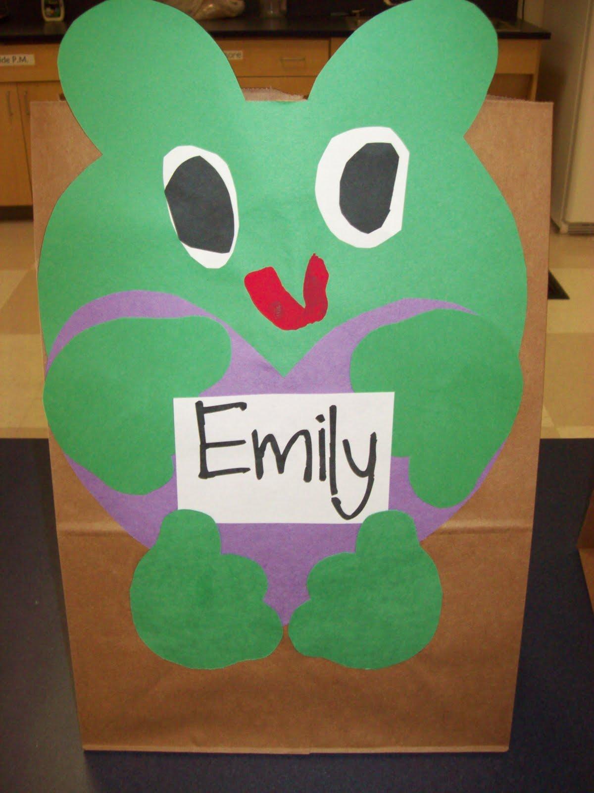 Valentine Bags For Kindergarten : Chalk talk a kindergarten valentine bag patterns