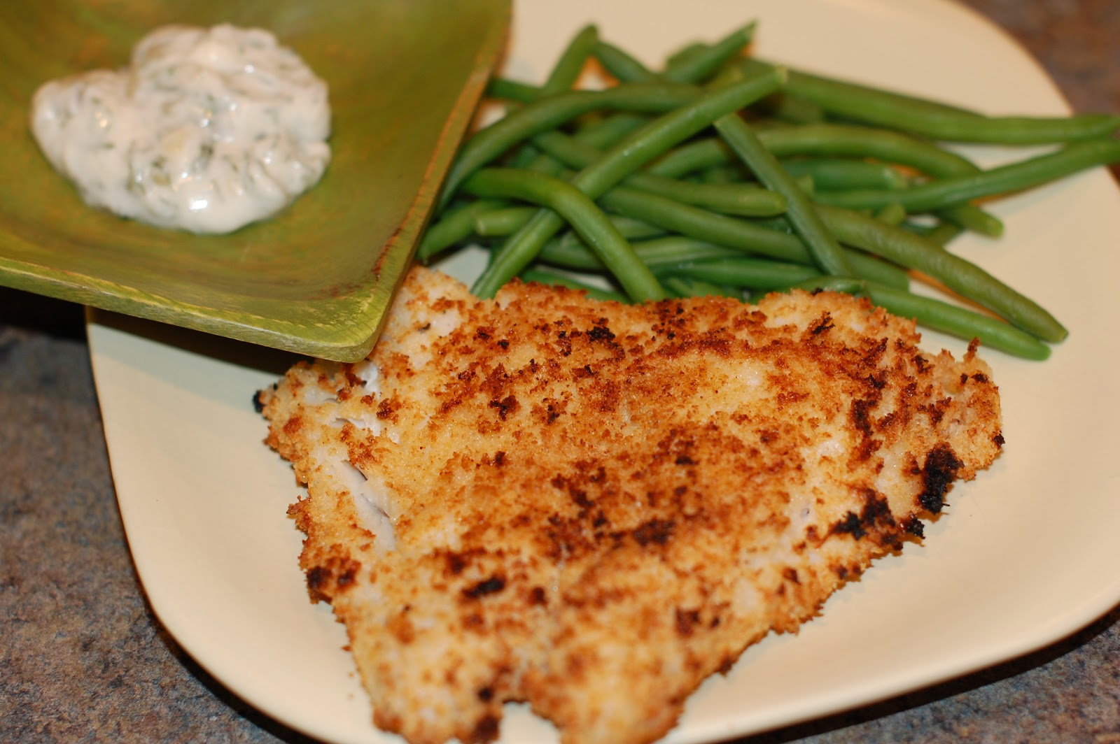 Dinner with the kinaymans crispy fish with lemon dill sauce for Dill sauce for fish