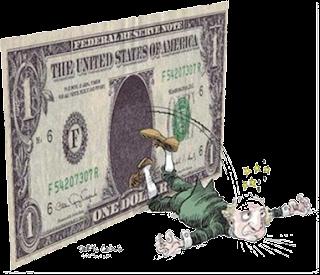caida del dólar