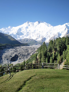 View from Raikot Sarai Fairy Meadows