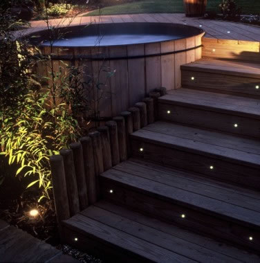 Iluminaci n de jardines y exteriores jardines con alma for Iluminacion led para jardines